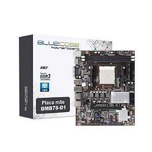 PLACA MAE AM3 MICRO ATX BMB78-D1 DDR3 VGA/HDMI BLUECASE BOX
