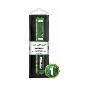 MEMORIA 8GB DDR4 2666 MHZ DESKTOP MV26N19/8 MACROVIP BOX