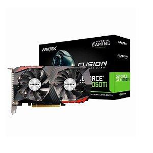 * PLACA DE VIDEO 4GB GTX 1050 TI FUSION AKN1050TID5S4GH1 GDDR5 128 BITS GEFORCE DP HDMI DVI-D ARKTEK BOX