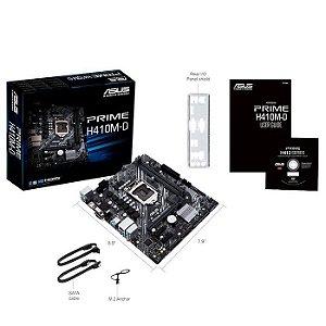 * PLACA MAE LGA 1200 MICRO ATX H410M-D PRIME DDR4 VGA/HDMI USB 3.2 ASUS BOX