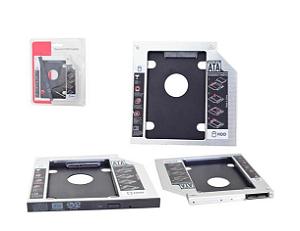 ADAPTADOR CADDY P/ HD OU SSD 12,7MM GENERICA BOX