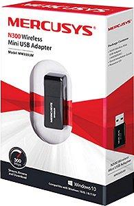 ADAPTADOR USB WIRELESS NANO WM300UM MERCUSYS BOX