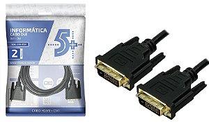 CABO DVI 2 M DVI 24 1 DVI 24 1 018-9557 5+ BOX