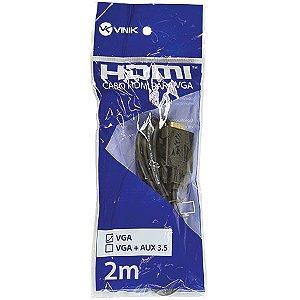 CABO HDMI P/ VGA HV-2 VINIK BOX