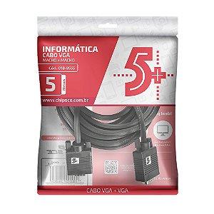 CABO VGA 5M 018-9555 C/ FILTRO 5+ BOX