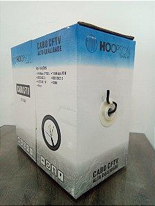 CAIXA DE CABO DE REDE 305 METROS CFTV-005P CAT5 PRETO HOOPSON BOX
