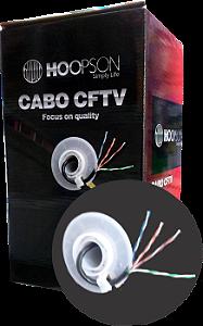 CAIXA DE CABO DE REDE 305 METROS RB002-P CAT5 PRETO HOOPSON BOX