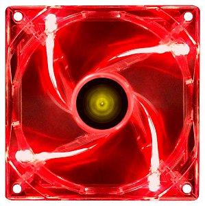 COOLER FAN P/ GABINETE 120MM VX GAMING V.LIGHT LED VERMELHO VINIK BOX