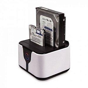 DOCK STATION MDCK-HD05U2/SL 2 HD´S SATA 3,5 OU 2,5 USB MYMAX BOX