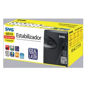 ESTABILIZADOR BIVOL 600VA 16215 PROGRESSIVE III SMS BOX