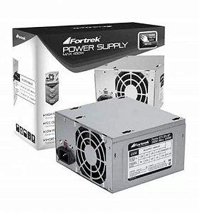 FONTE ATX 200W 20/24 PINOS PWS2003 2-SATA 2 IDE S/CABO FORTREK BOX