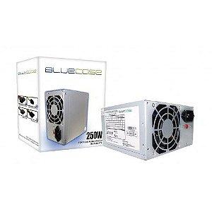FONTE ATX 250W 20/24 PINOS BLU 250 ATX C/ CABO BLUECASE BOX