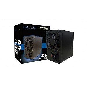 FONTE ATX 350W REAL 20/24 PINOS BLU350-K S/CABO BLUECASE BOX