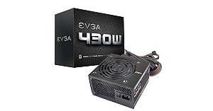 FONTE ATX 430W REAL 100-W1-0430-KR EVGA BOX