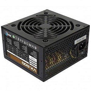 FONTE ATX 500W REAL 20/24 PINOS VX-500 AEROCOOL BOX