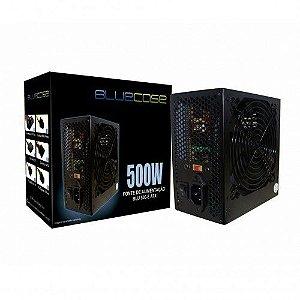 FONTE ATX 500W REAL BLU500-E BLUECASE BOX