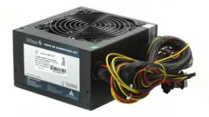 FONTE ATX 600W REAL 20/24 PINOS WS-600W 1X12 2*SATA 3* IDE WISECASE BOX