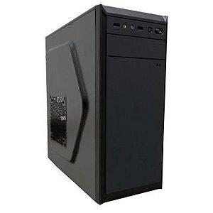 GABINETE 1 BAIA BG-2312 230W C/FONTE PRETO BLUECASE BOX