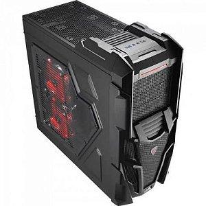 GABINETE 3 BAIAS EN57028 MECHATRON BLACK WINDOW EDITION AEROCOOL BOX