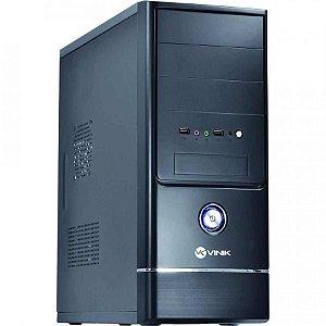 GABINETE 3 BAIAS VG-04 C/FONTE PRETO VINIK BOX