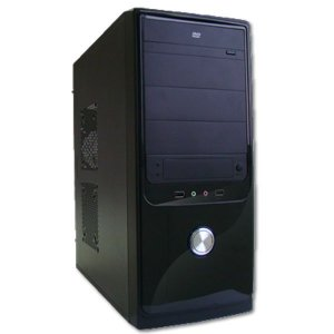 GABINETE 4 BAIAS FT-401 C/FONTE PRETO WISECASE BOX