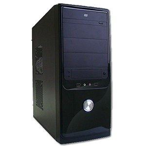 GABINETE 4 BAIAS FT-401 S/ FONTE PRETO WISECASE BOX
