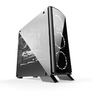 GABINETE GAMER BG-007 S/ FONTE USB 3.0 FRONTAL BLUECASE BOX