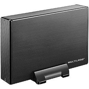 GAVETA PARA HD 3,5 GA118 PRETO MULTILASER BOX