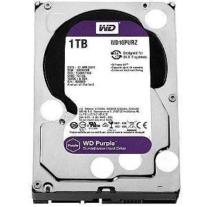 HD 1000GB SATA3 WD10PURX PURPLE SURVEILLANCE WESTERN DIGITAL OEM