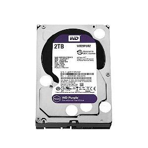 HD 2000GB SATA 3 6GB/S WD20PURZ 5400RPM 64MB PURPLE SURVEILLANCE WESTERN DIGITAL OEM