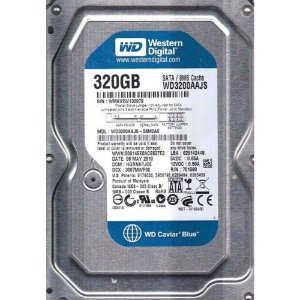 HD 320GB SATA2 3.0GBPS WD3200AAJS-56M0 7200RPM WESTERN DIGITAL OEM