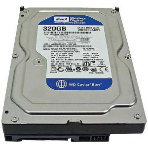 HD 320GB SATA2 WD3200AAKS 7200RPM WESTERN DIGITAL BOX