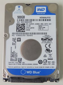 HD 500GB SATA 3 6GB/S WD500LPCX 5400RPM NOTEBOOK/ULTRABOOK WESTERN DIGITAL OEM