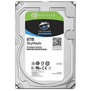 HD 8000GB SATA 6.0 GB/S ST8000VX0022 7200RPM SKYHAWK SEAGATE BOX
