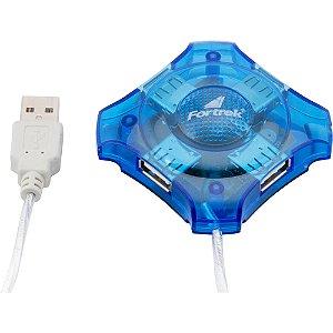 HUB USB 2.0 4 PORTAS HBU-401 FORTREK BOX