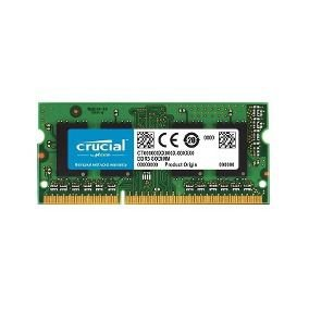 MEMORIA 4GB DDR3L 1600 MHZ CT51264BF160BJ NOTEBOOK CRUCIAL BOX