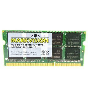 MEMORIA 8GB DDR3 1600 MHZ NOTEBOOK PC38192M1600C11-1748M MARKVISION OEM