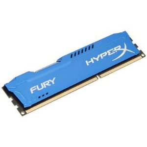 MEMORIA 8GB DDR3 1866 MHZ BLUE HYPER X HX318C10F/8 KINGSTON BOX