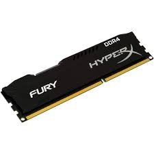 MEMORIA 8GB DDR4 2400 MHZ FURY HYPERX HX424C15FB/8 PRETO KINGSTON BOX