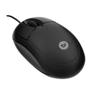 MOUSE USB 0106 PRETO BRIGHT BOX
