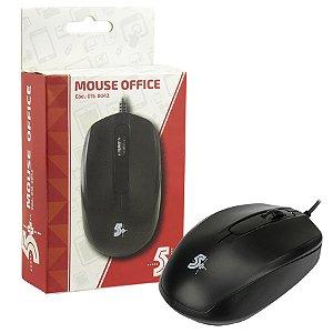 MOUSE USB 015-0042 1000 DPI PRETO 5+ BOX