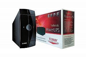 NO-BREAK 700VA 4008 POWER UPS MONO PRETO TS SHARA BOX