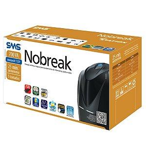 NO-BREAK 700VA MONO 27916 NEW STATION 115V BLACK SMS BOX