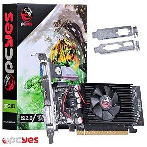 PLACA DE VIDEO 1 GB PCIEXP GT210 PPV210GT6401D2LP 64BITS DDR2 GEFORCE PCYES BOX