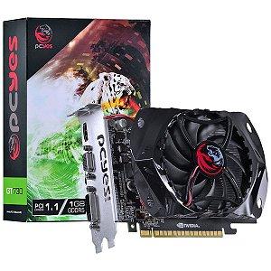 PLACA DE VIDEO 1 GB PCIEXP GT730 PY730GT12801G5 128BITS GDDR5 GEFORCE PCYES BOX
