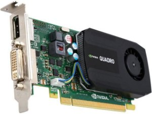 PLACA DE VIDEO 1 GB PCIEXP QUADRO K420 192CUDA CORES DVI DP 128BITS DDR3 NVIDIA BOX