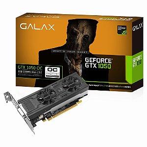 PLACA DE VIDEO 2GB PCIEXP GTX 1050 50NPH8DSP2MN 128BITS GDDR5 GEFORCE GALAX BOX