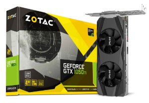 PLACA DE VIDEO 2GB PCIEXP GTX 1050 ZT-P10500E-10L 128BITS DDR5 DVI/HDMI/DP ZOTAC BOX