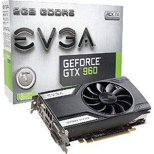 PLACA DE VIDEO 2GB PCIEXP GTX 960 02G-P4-2961-KR 128BITS EVGA BOX