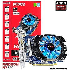 PLACA DE VIDEO 2GB PCIEXP PH36012802D5 R7 360 128BITS GDDR5 PCYES BOX